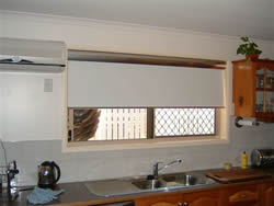 Roller blinds for your kitchen