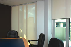 Roller blinds for your office or boardroom